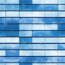 glass exterior modern office. modern office building wall made of blue glass and steel frame square seamless photo texture exterior l