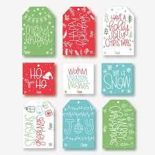 Holiday Gift Tags Template Printable Christmas Tags Merry Christmas Tags Dimensional Gift Tags Christmas Present Labels Xmas Gift Tags