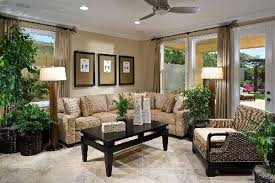 Living Room Ideas : Decorative Ideas For Living Room Best Interior Design  Black Rectangle Coffee Table Potted Plants Cream Ornamental Fabric Sofa  Hanging ...
