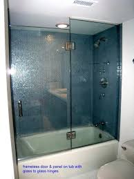 aqua glass tubs shower doors