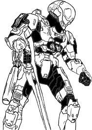 Free Halo Eva Spartan Coloring Pages Spartan Coloring Pages