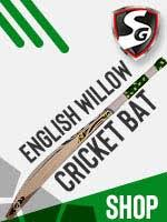 Sg Cricket Bat Size Chart