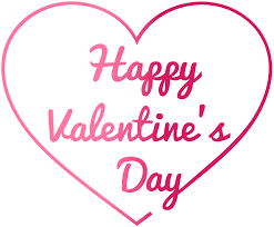 <b>Happy Valentine's Day</b>!