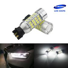 Bmw 1 Series Daytime Running Light Bulb Us 17 99 Angrong 2pcs Pw24w Led Bulbs White Daytime Running Light Canbus 45w For Bmw 3 Series F30 F31 In Signal Lamp From Automobiles Motorcycles