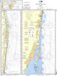 Noaa Nautical Chart 11466 Jupiter Inlet To Fowey Rocks Lake