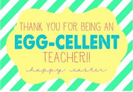 Thank You Easter Thank You For Being An Egg Cellent Teacher Easter Gift Tag