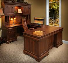 home office desk with hutch. Full Size Of Desk \u0026 Workstation, Elegant Shaped Desks All Home Ideas And Decor Nice Office With Hutch