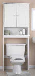Types of Over The Toilet Storage