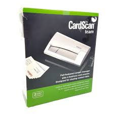 Cardscan Team Executive Pass Through Business Card Scanner 800c Dymo