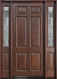 Arched Carved Wood Door Just Need  Fewer Windows On The Side - Custom wood exterior doors