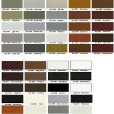 Powder Coat Ral Chart Outdor Patio Furniture Powder Coating Los Angeles