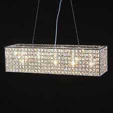 chrome glamour chandelier