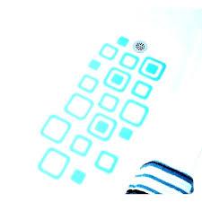 bathtub decals non slip stickers adhesive square bath treads remove
