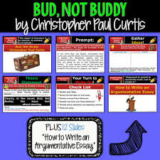 bud not buddy text dependent analysis argumentative writing tpt bud not buddy text dependent analysis argumentative writing