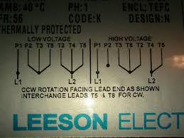 leeson electric motor wiring diagram wiring diagram rh 57 geschiedenisanders nl dayton electric motor wiring diagram 3 phase motor wiring diagrams