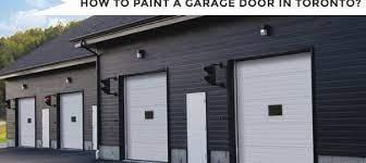 painting fiberglass garage door