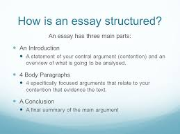 how to write better text responses a step by step guide ppt  how is an essay structured