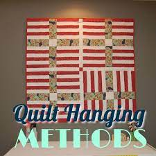 the top 4 ways to hang a quilt right