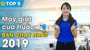 Top 5 máy giặt cửa trước bán chạy nhất Điện máy XANH năm 2019