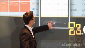 Microsoft Interactive Presentation On Cebit 2011 Ventuz