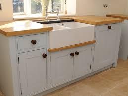 Kitchen Island Free Standing Kitchen 62 Furniture Two Tone Wooden Free Standing Kitchen