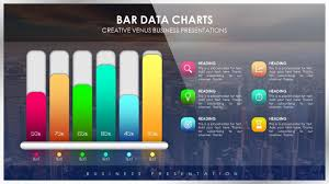 Beautiful Charts How To Create Beautiful Bar Data Chart For Business Presentation In Microsoft Powerpoint Ppt