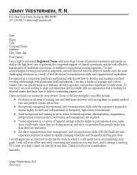 Nursing Cover Letter Sample Musiccityspiritsandcocktail Com