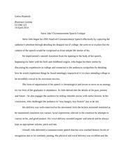 chapter speech intro notes chapter speech introduction  2 pages steve jobs commencement speech critique essay