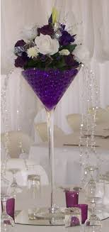 tall martini glass vases for centerpieces | Wedding, Reception, Centerpiece,  Vase, Vases