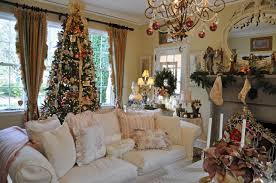 simple homes christmas decorated. Interior Decorated Throughout Simple Pictures Of Christmas Homes Nice Home Design Cool C