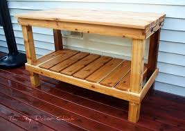 10 free potting bench plans for you to diy