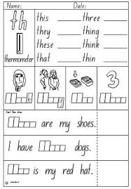 Phonics worksheets and online activities. Activity Sheet Digraph Th English Skills Online Interactive Activity Lessons Digraph Digraphs Activities Phonics Worksheets Grade 1