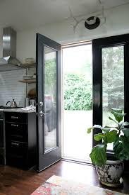 house tweaking exterior kitchen door with
