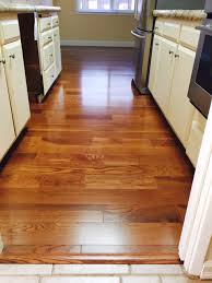 Oak Floors In Kitchen Beautiful Somerset Gunstock Oak Installed In A Kitchen By
