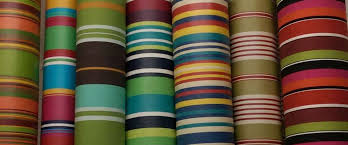 oilcloth fabric striped oilcloth fabric wipeable water resistant fabrics in bold beautiful stripes the wipeable oilcloth coating is a matte hard wearing