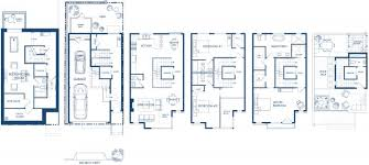 Townhouse Floor Plans With Garage Schoolhouse Luxury Townhomes Floor Plans With Garage