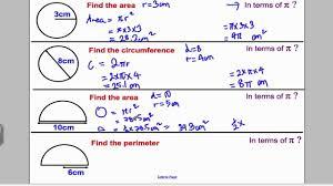 circles 1 gcse higher maths tutorial 7