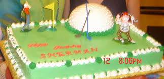 Mlyus Cake Design My Husband 50th Birthday Cake Golf Course