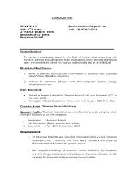 Career Objective Examples For Resume Extraordinary Career Objective Examples For Resume For Experienced With To Make