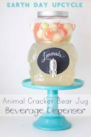 animal er bear jug diy beverage dispenser