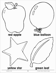 Vibrant Design Pre K Coloring Pages Printables Abc Activity Sheet