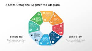 Ppt Smart Art 8 Steps Octagonal Rounded Segmented Diagram