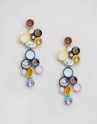 Купить женские серьги с камнями в интернет-магазине Lookbuck ...