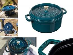 Staub Teal La Mer Color Dutch Ovens In 2019 Dutch Oven