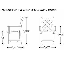 Standard Kitchen Table Sizes Living Room Chair Dimensions Nomadiceuphoriacom