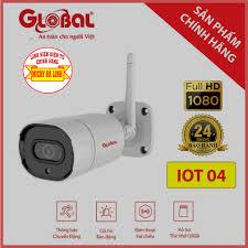 CAMERA IP WIFI 2.0 MEGAPIXEL GLOBAL IOT04 CHÍNH HÃNG - SỬ DỤNG NGOÀI TRỜI -  Hệ Thống Camera Giám Sát