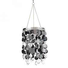 anywhere lighting battery operated shimmer chandelier