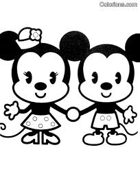 Kleurplaten Disney Cuties