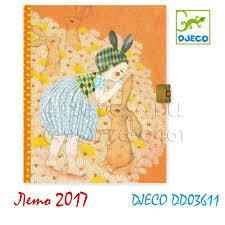 <b>DJECO</b> DD03611 <b>Блокнот</b> с замочком Элоди