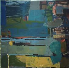 james o shea abstract painting nocturne square contemporary abstract oil painting in dark